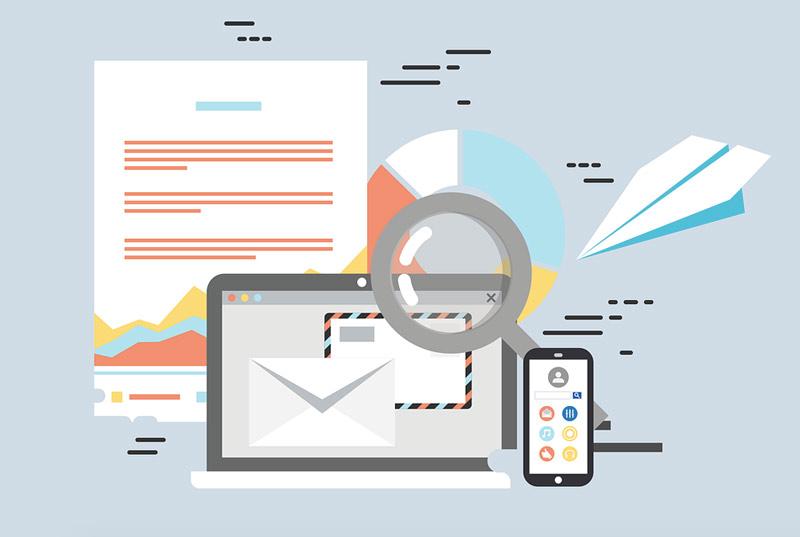 infografía sobre el envío de emails